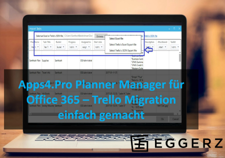 Grafik Trello Migration Office365